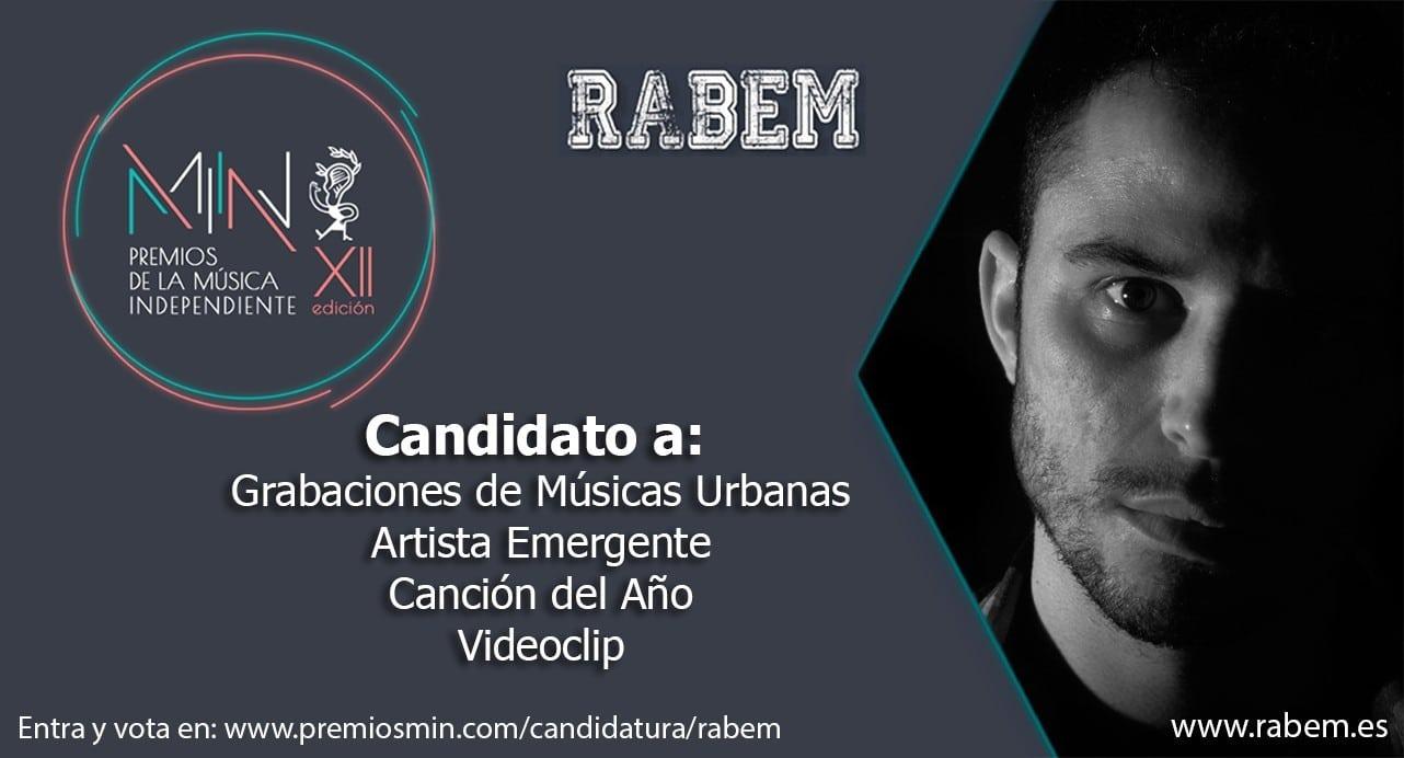 RABEM, seleccionado en la XII edición de Premios de la Música Independiente 2020